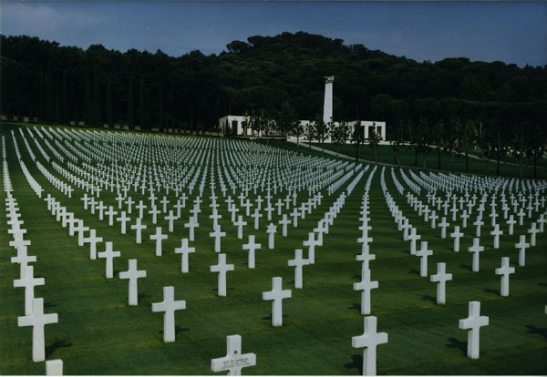 The Florence American Cemetery Is Situated Approximately 7